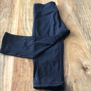 Lululemon black crops. Great condition